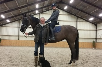 Liz Barclay Dressage: An afternoon or two with Maarten van Stek